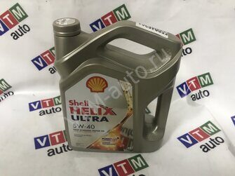 Моторное масло Shell Helix Ultra 5W40 4л. (Shell 550046361)