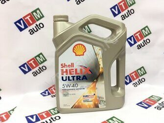 Моторное масло Shell Helix Ultra 5W40 4л.