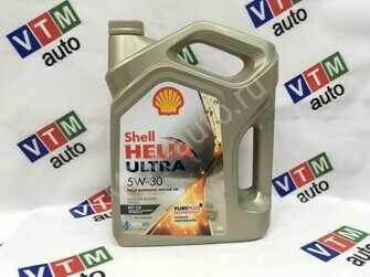 Моторное масло Shell Helix Ultra 5W30 4л. ECT C3
